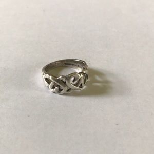 Tiffany's Paloma Picasso Silver Heart Ring